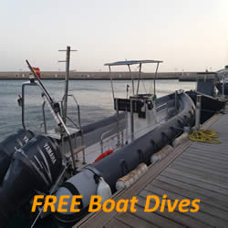 FREE boat dives at Lanzarote Dive Centre