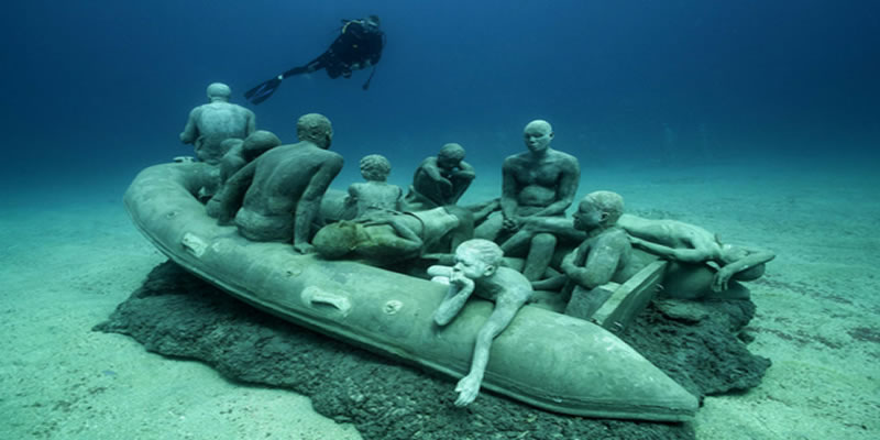 The Raft of Lampedusa