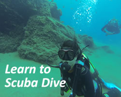 learn to scuba dive in lanzarote