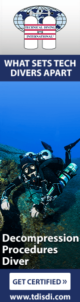 become a TDi Decompression Procedures diver in Lanzarote