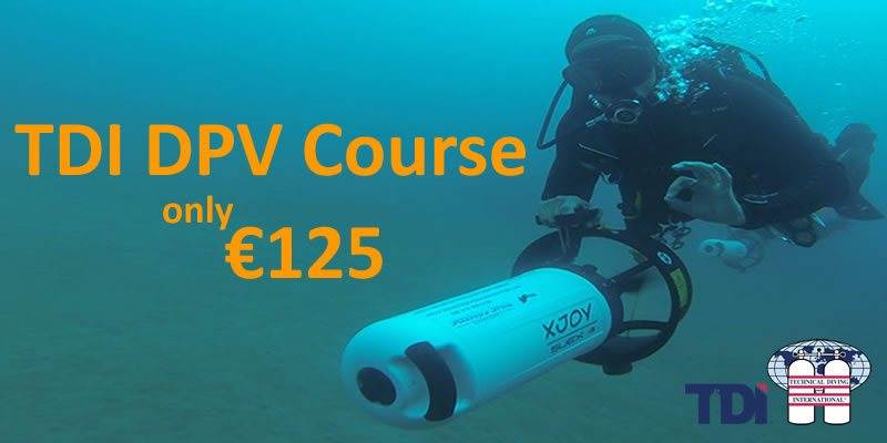 TDi Diver propulsion vehicle course