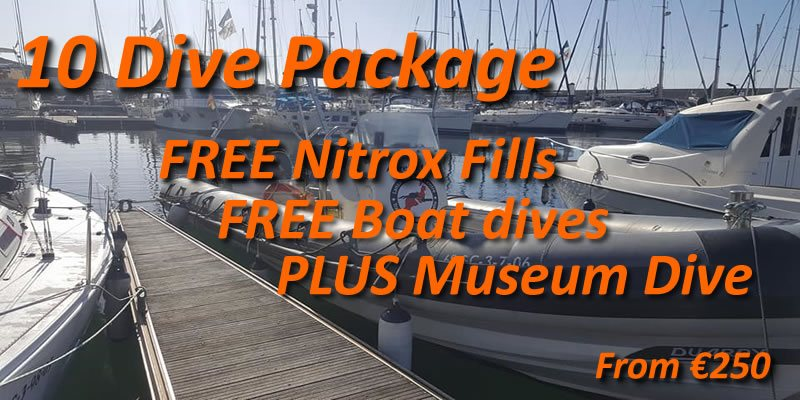 Hot summer special 10 dive package
