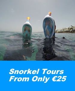 Snorkel tours in Lanzarote